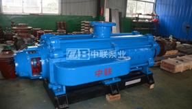 南京金矿2台矿安证MD200-100×8P矿用耐磨自平衡多级离心泵