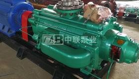 广州代理商给业主配套2台DF85-80x8P海水泵