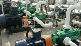 广州某环�?萍脊静晒篋FP型调节池提升泵