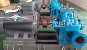 上海某泵业采购250DK360多级双吸中开泵