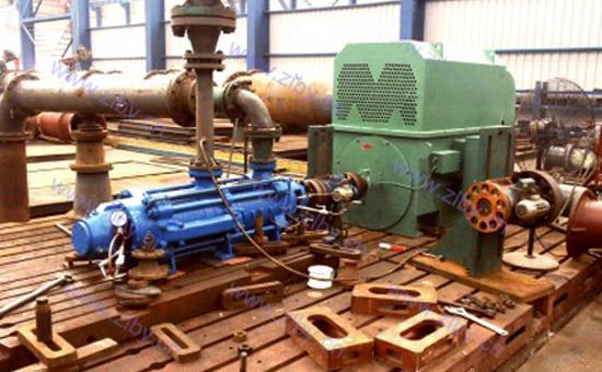 自平衡多級泵測試
