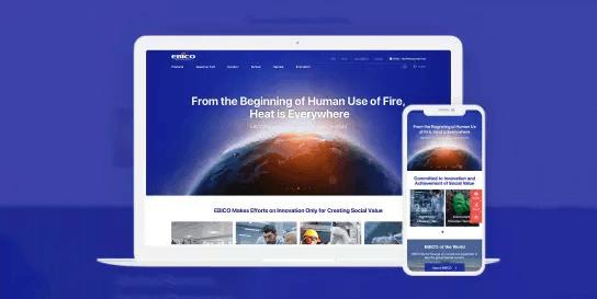悉知科技為歐保燃燒器英文站提供全案策劃服務