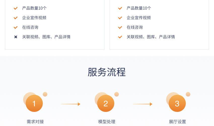 制造企業數字化三維展廳建設服務_12