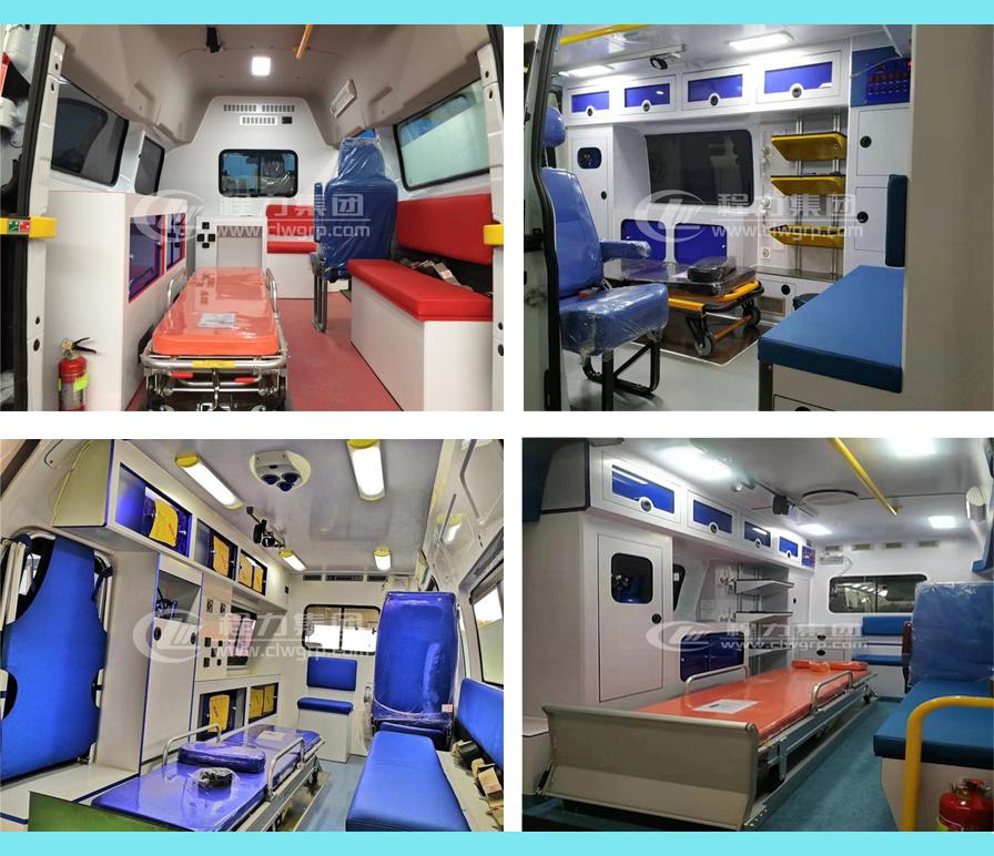 奔馳威霆救護車醫療艙