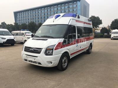 福特新世代全順V348監護型救護車