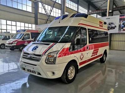 福特新世代全順V348轉運型救護車