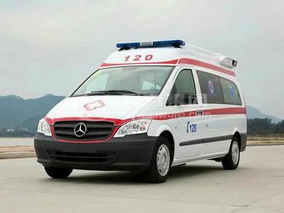 奔馳威霆監護型救護車