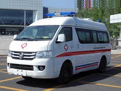 福田風景G7負壓型救護車