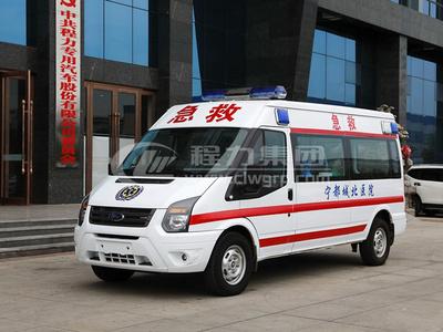 福特新世代全順V348負壓救護車