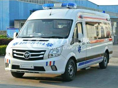 福田圖雅諾轉運型救護車
