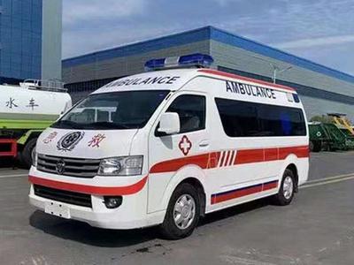 福田風景G7監護型救護車