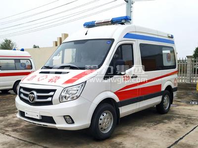 福田圖雅諾監護型救護車