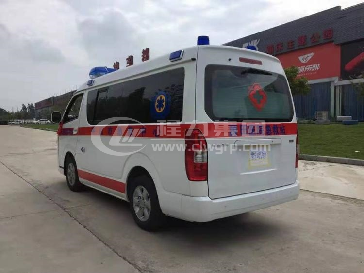 金杯新海獅救護車21