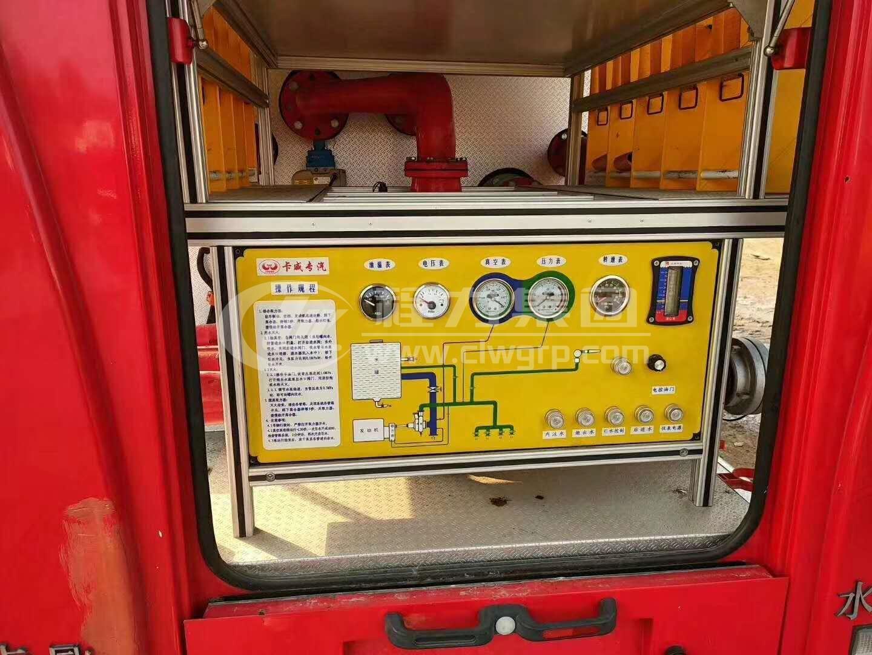 東風小多利卡水罐消防車