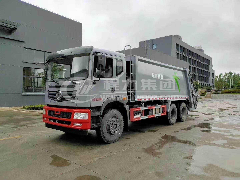 怎樣調整壓縮式垃圾清運車的推鏟壓力?