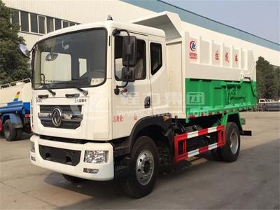 東風多利卡D9壓縮式對接垃圾車