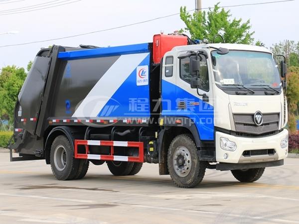 福田歐馬可后裝壓縮式垃圾車1