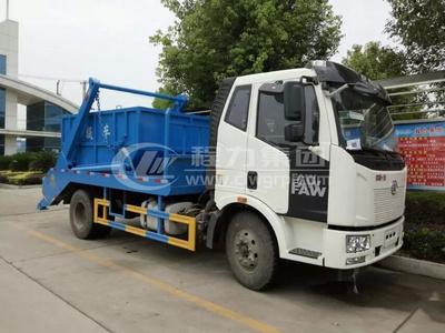 解放J6【10方】擺臂式垃圾車
