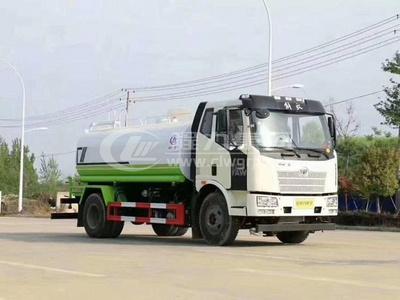 解放J6L【13噸】降塵灑水車