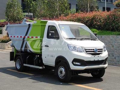 東風小康壓縮式小型環衛垃圾車