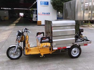 程力牌三輪電動高壓清洗車