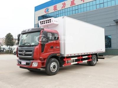 福田瑞沃6.8米廂式冷藏車