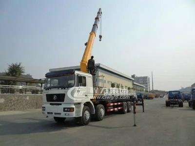 陜汽德龍【18噸】隨車起重運輸車