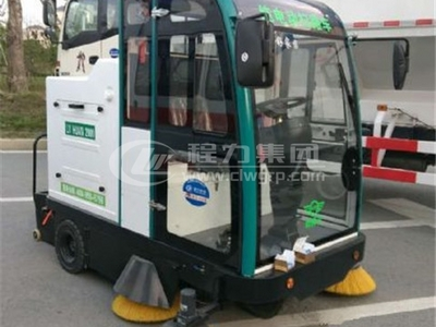 封閉式LTF-2000型智能工業掃地車