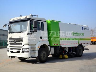 陜汽德龍國六【8噸】洗掃車