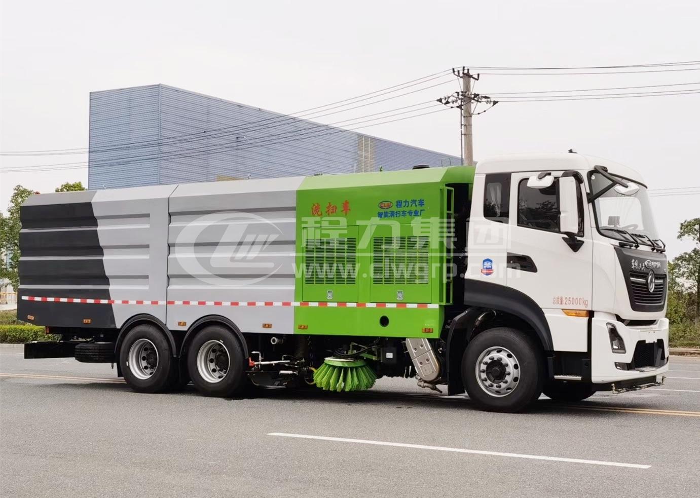 東風天龍大型洗掃車2
