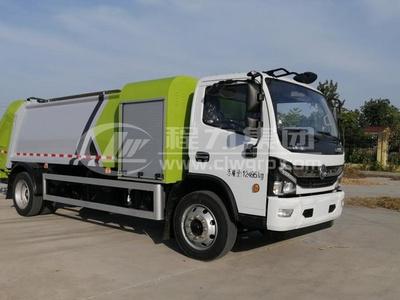 壓縮式對接垃圾車的使用方法及詳細操作步驟