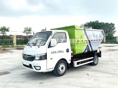 比亞迪純電動自裝卸式電動垃圾運輸車