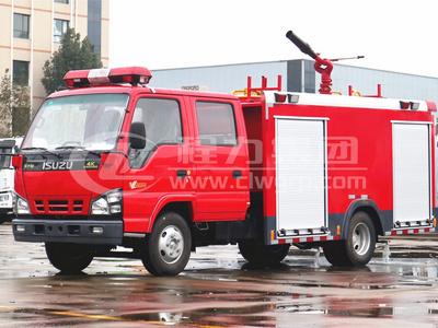 五十鈴【3噸】水罐消防車