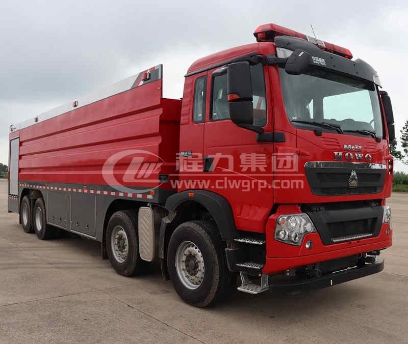 重汽豪沃大型水罐消防車11