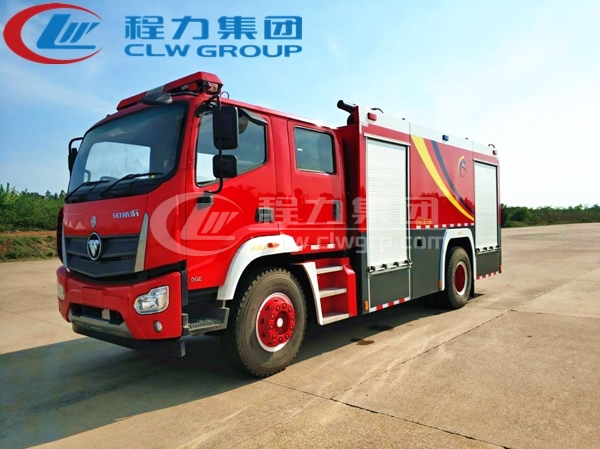 福田瑞沃2噸水罐消防車1