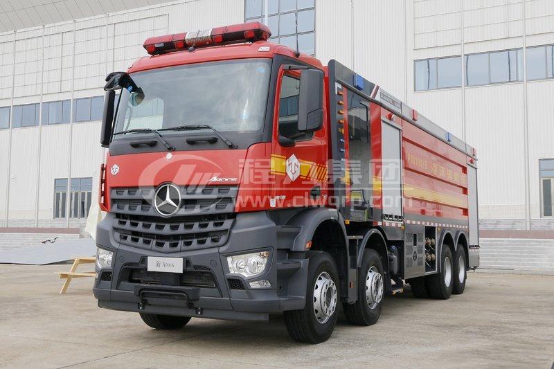奔馳12噸泡沫消防車3