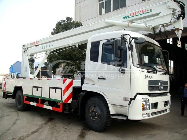 東風天錦22米曲臂式高空作業車1