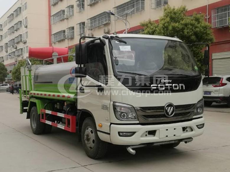 福田奧鈴5噸市政灑水車3