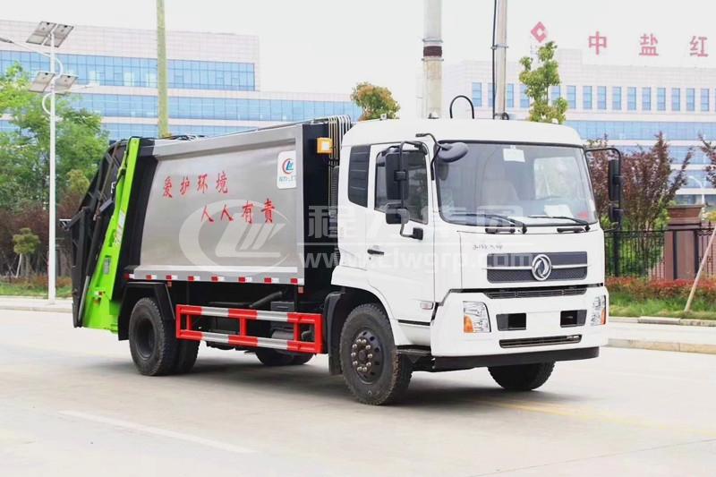 東風天錦后裝式壓縮垃圾車