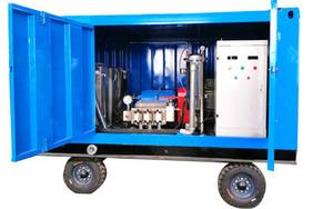 SJ--3工業列管管清洗機(500--1000bar)