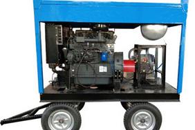 高壓水噴砂除銹除漆(柴油機驅動)