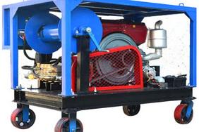管道疏通清洗機(單缸柴油機驅動)