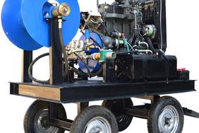 液壓自動繞管器管道清洗機