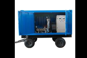 1400公斤高壓水射流清洗機換熱器管束高壓清洗機
