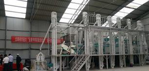 華豫萬通承建的云南藜麥脫皮、黎麥加工生產線交付客戶手中
