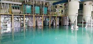 海城糧食公司使用華豫萬通設計的日60噸玉米加工生產線