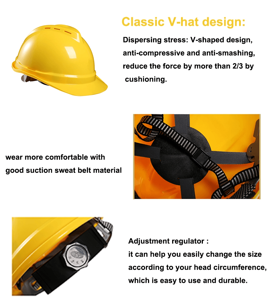 China Best Construction Safety Helmet with CE EN 397 Certification