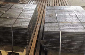 High chromium alloy wear resistant plate