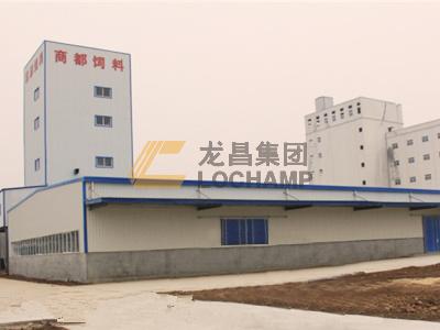 河南商都年产6万吨高档猪饲料生产线