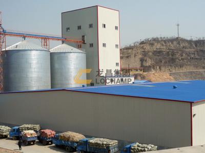 河南金都年产6万吨肉鸡颗粒料生产线